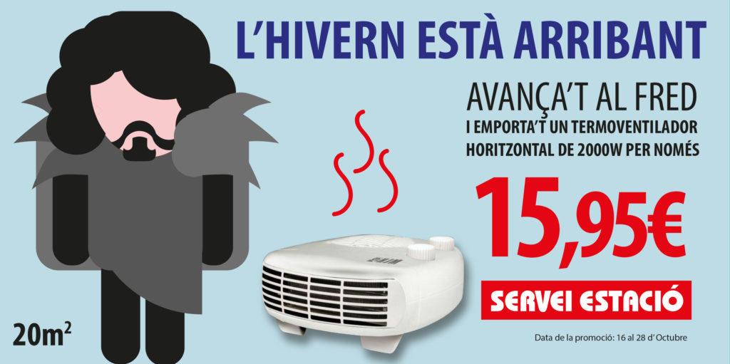 Promoción Calefacción Servei Estació