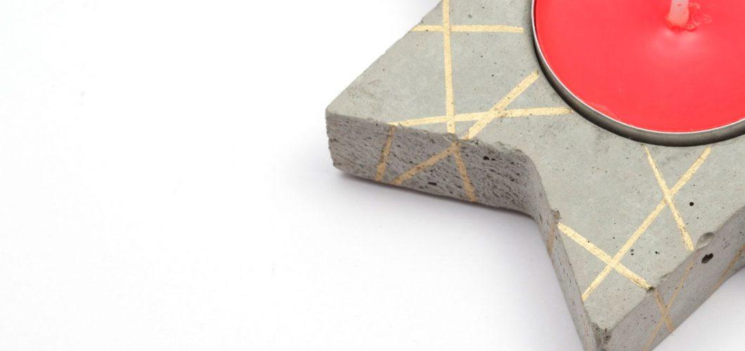 Manualidades con cemento