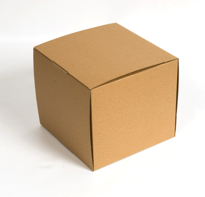 Caja de cartón piñata