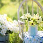 como hacer muebles de jardín caseros