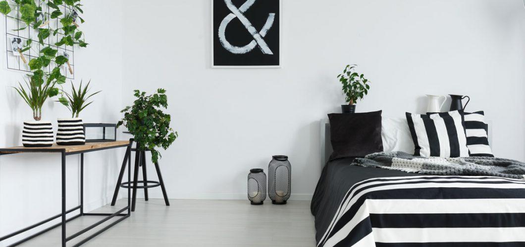 Decoración habitación con plantas - Servei Estació
