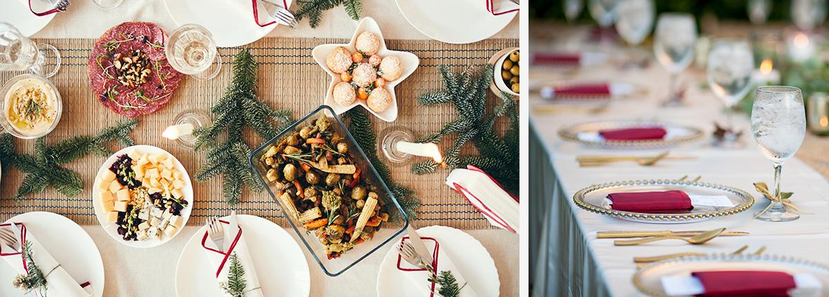 Cómo decorar la mesa de Navidad 2020 - Servei Estació