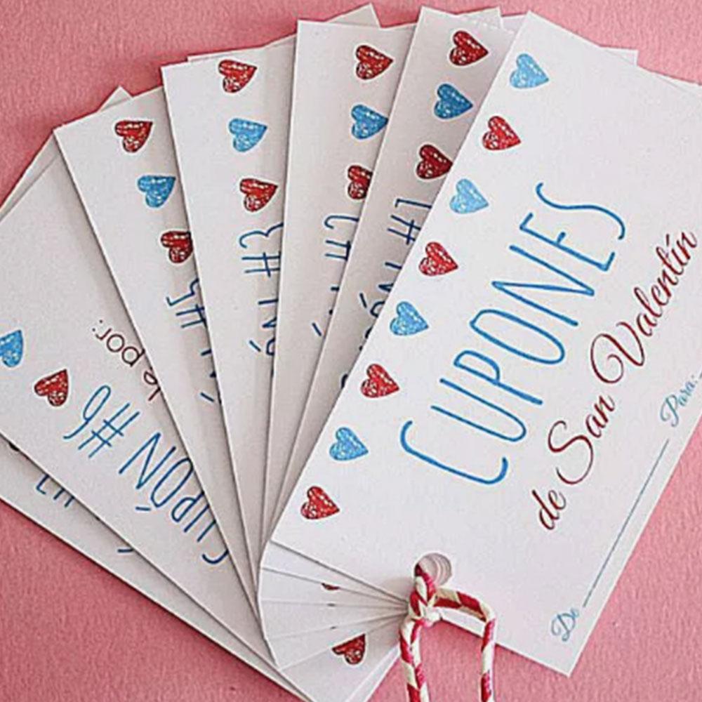 Cupones de San Valentin para regalar - Servei Estació