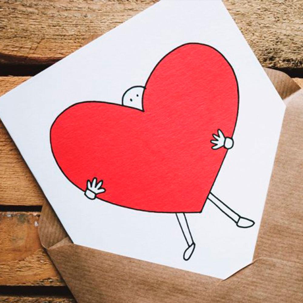 Tarjetas de San Valentín hechas a mano - Servei Estació