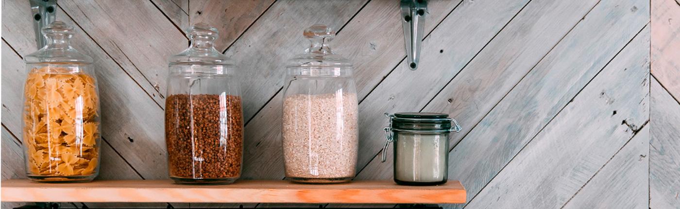 Cómo organizar alimentos en tarros y botes de cristal - Servei Estació