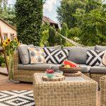 Fundas para proteger muebles de jardín - Servei Estació