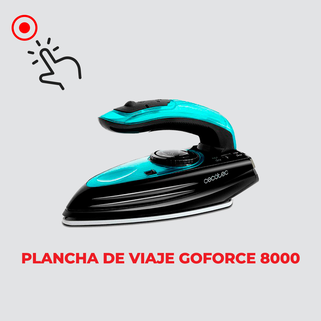 Plancha de Viaje Goforce 8000