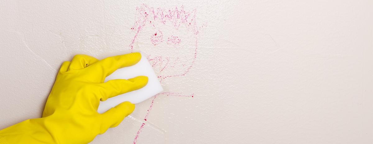 Cómo limpiar paredes pintadas - Servei Estació