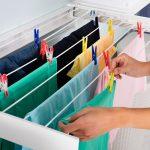 Cómo secar la ropa dentro de casa - Servei Estació