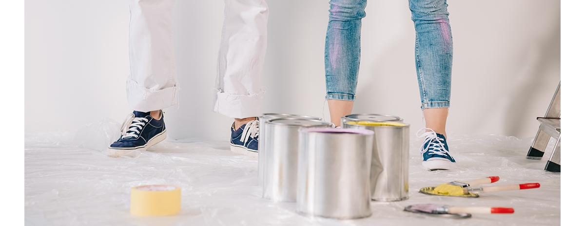Tipos de pintura y su limpieza - Servei Estació