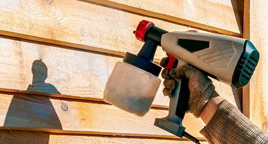 Pintura o tratamiento para la madera - Servei Estació