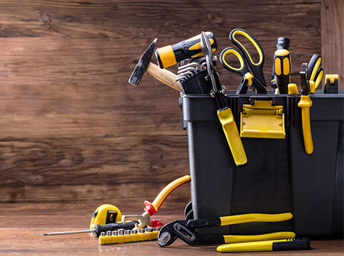 Caja de herramientas ordenada - Servei Estació