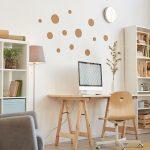 Cómo hacer un escritorio con caballetes de madera - Servei Estació