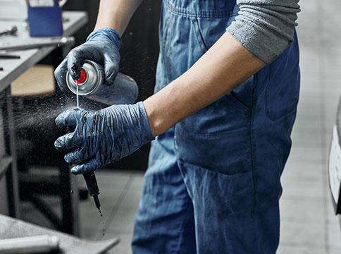 Spray o producto para prevenir el óxido - Servei Estació