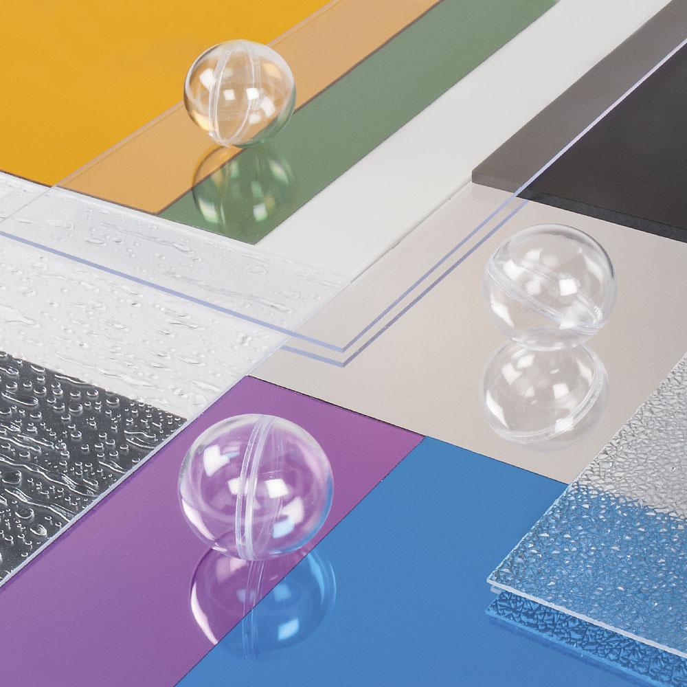Vidrio Plástico, Poliestireno