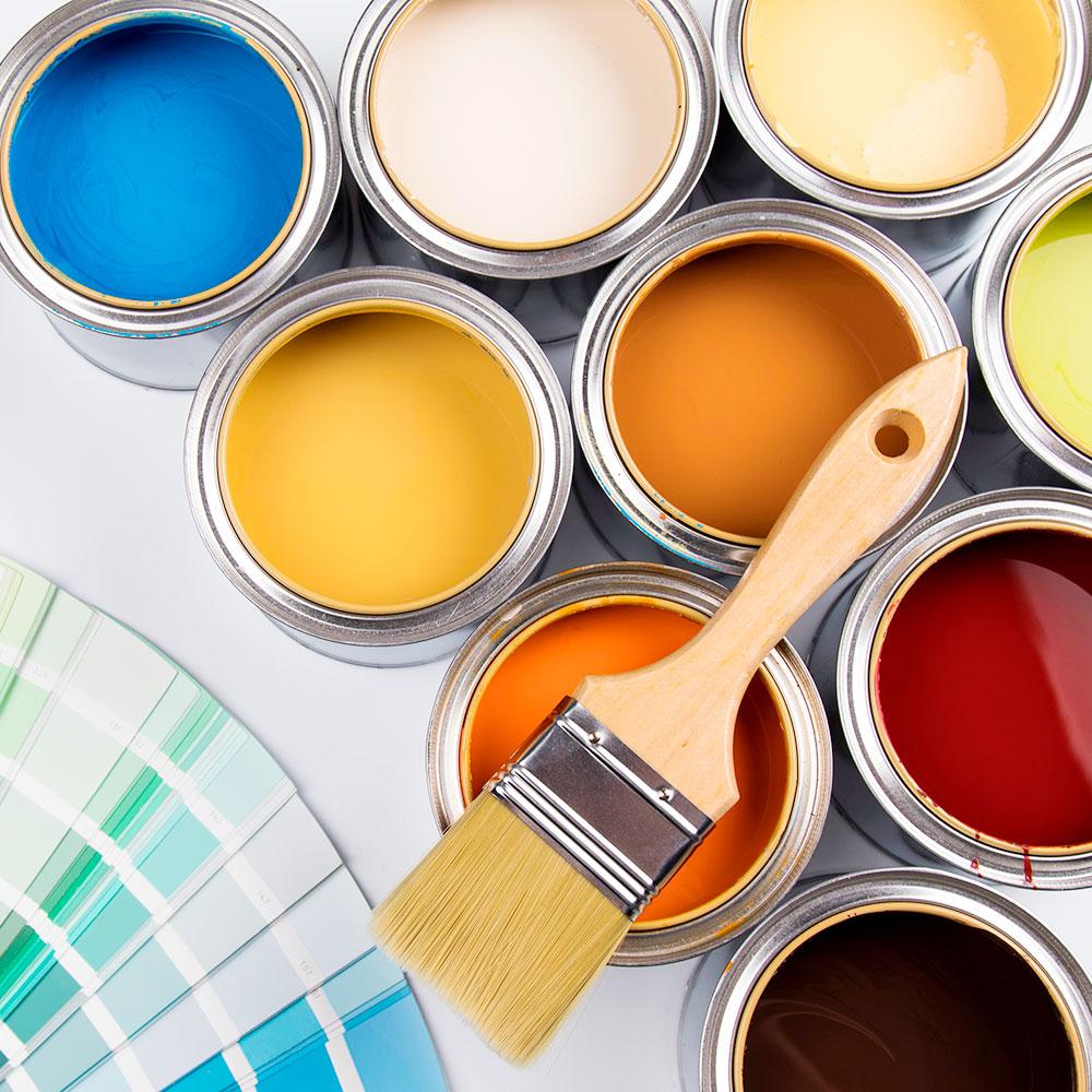 Pintura decorativa esmaltes