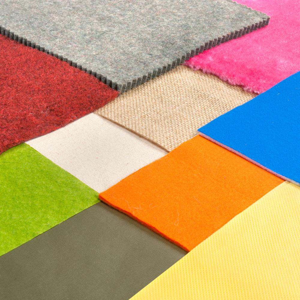 Tejido téxtil y Fieltros