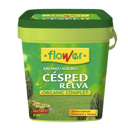 ABONO CESPED ORGANIC COMPLET CUBO 2KG