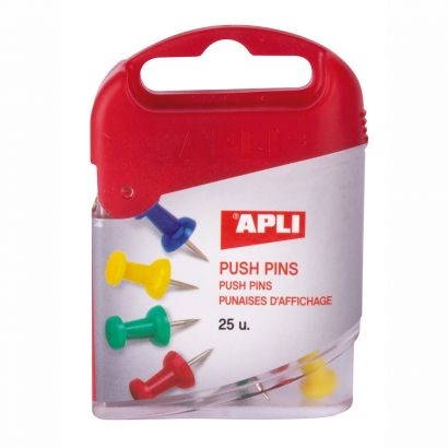 Agujas Pushs Pins Colores