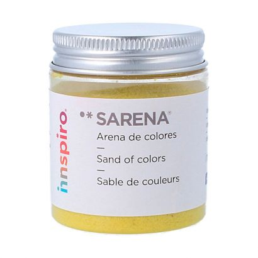 Arena de Colores Sarena Amrillo Fuerte 110gr