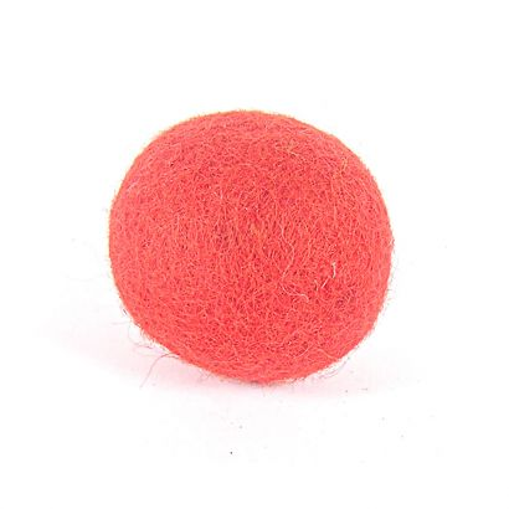 Bola Fieltro Felthu Rojo 20 Mm. (5u.)
