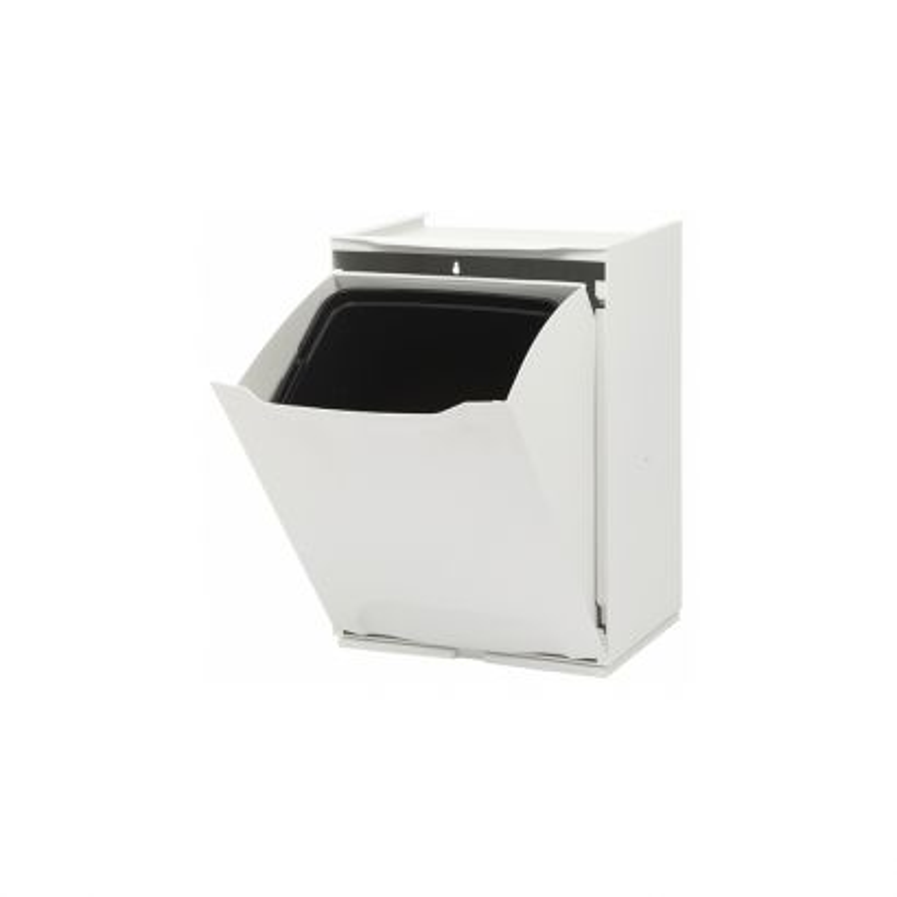 Contenedor Ecológico  X3 Metál Blanco