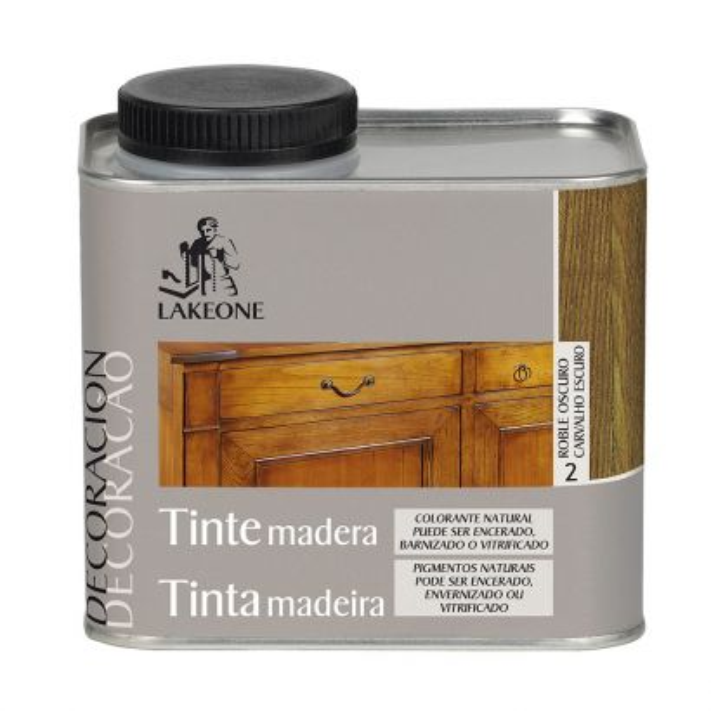 TINTE PARA LA MADERA 450 ml. ROBLE OSCURO