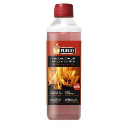 OKFUEGO COMBUSTIBLE GEL ENCENDIDO 500 ML