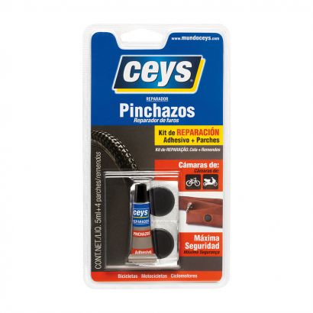 Ceys Reparador Pinchazos Blister 6U