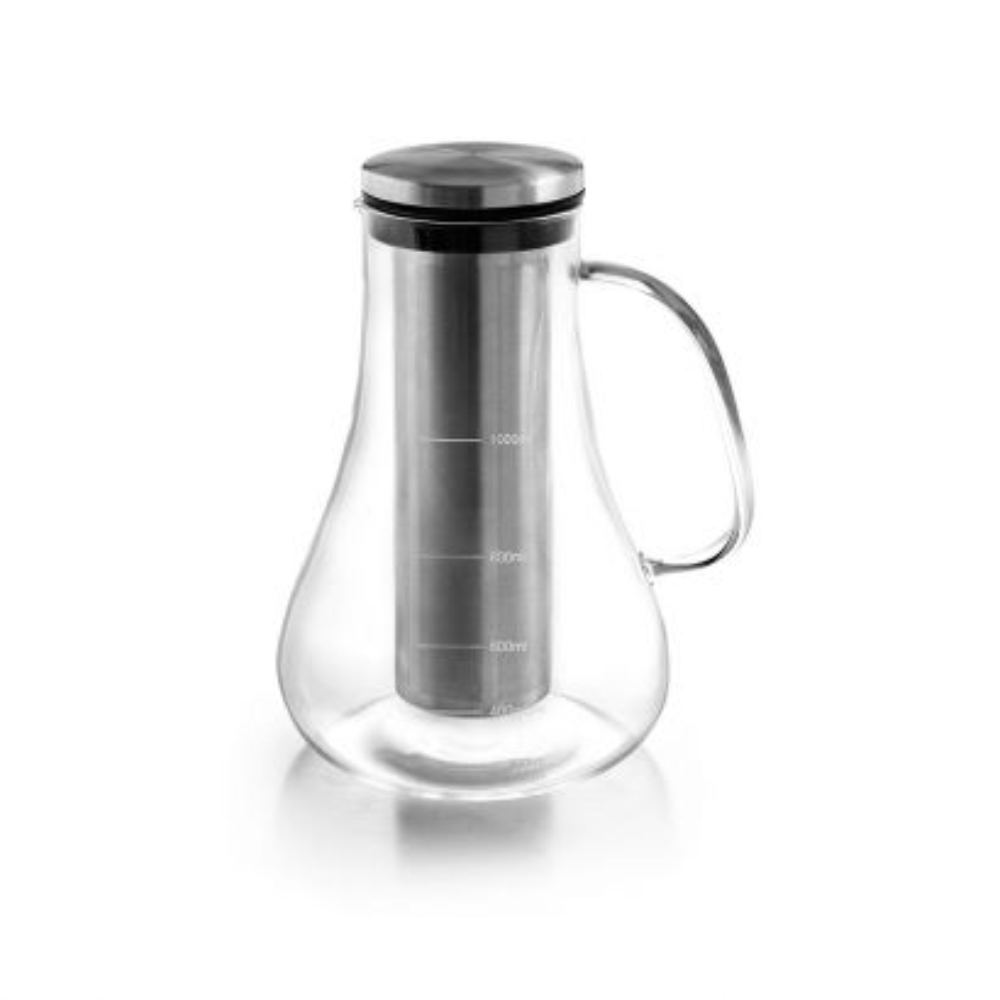 Jarra infusora borosilicato para cafe / te frio