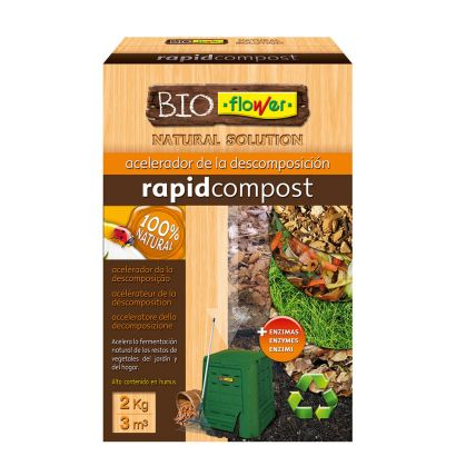 BIOFLOWER RAPID COMPOST 2KG