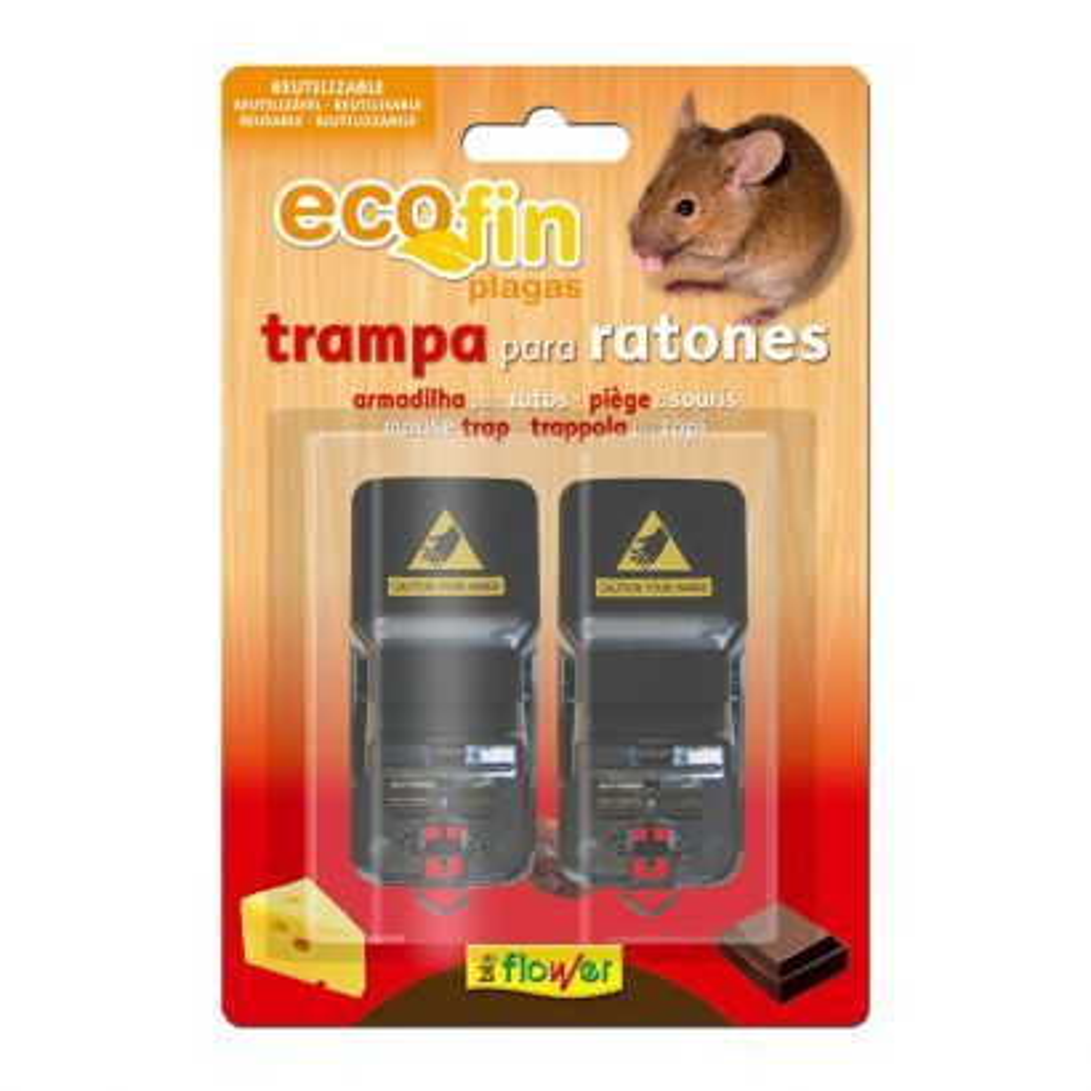 ECOFIN TRAMPA RATONES (2 UNID)