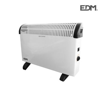Convector termostato regulable 2000w.