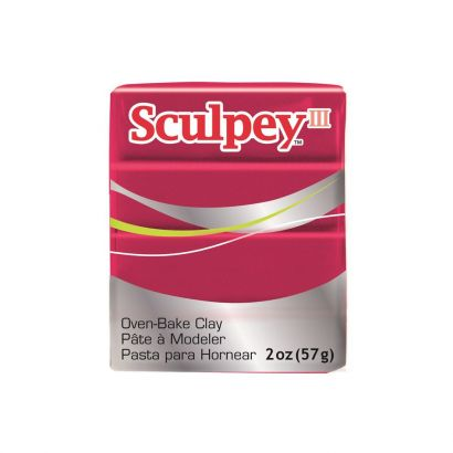Pastilla Sculpey Iii 1140 Deep Red Pearl