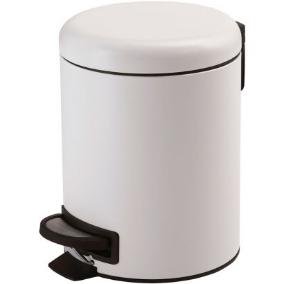Papelera Redonda G-Potty Blanco 3l