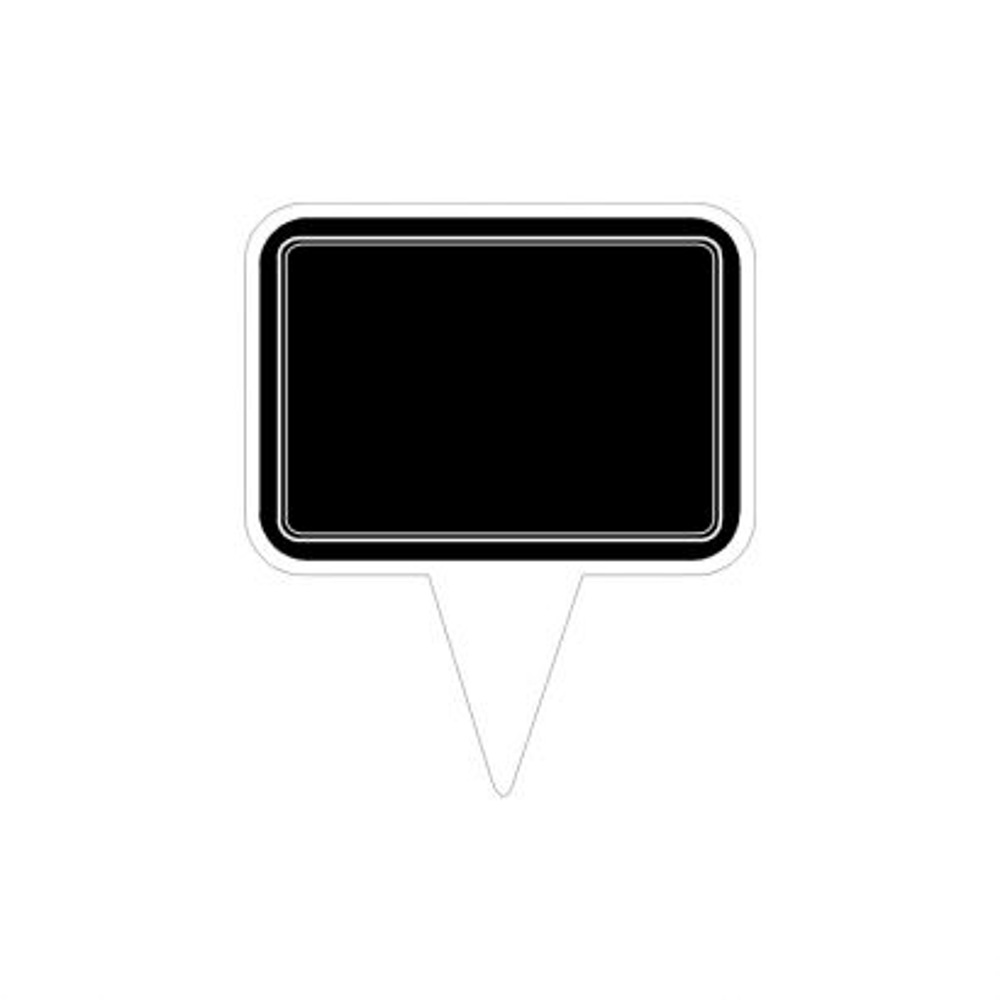 Etiqueta Marca Precio Plastico Pn3 (125x145) 8 Uni.