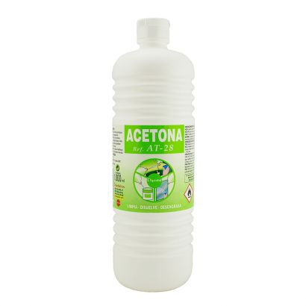ACETONA AT-28 Plástico 1000ml