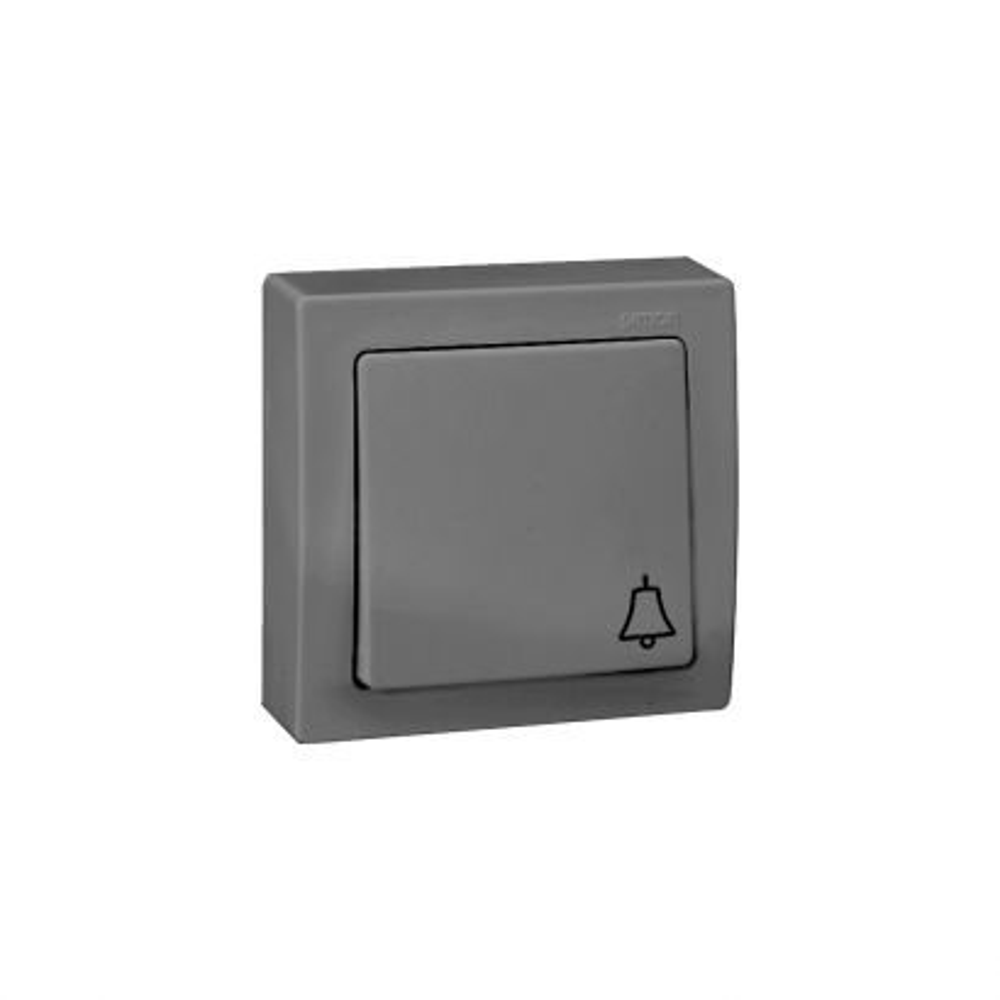 Pulsador campana aluminio Simon 73 Loft
