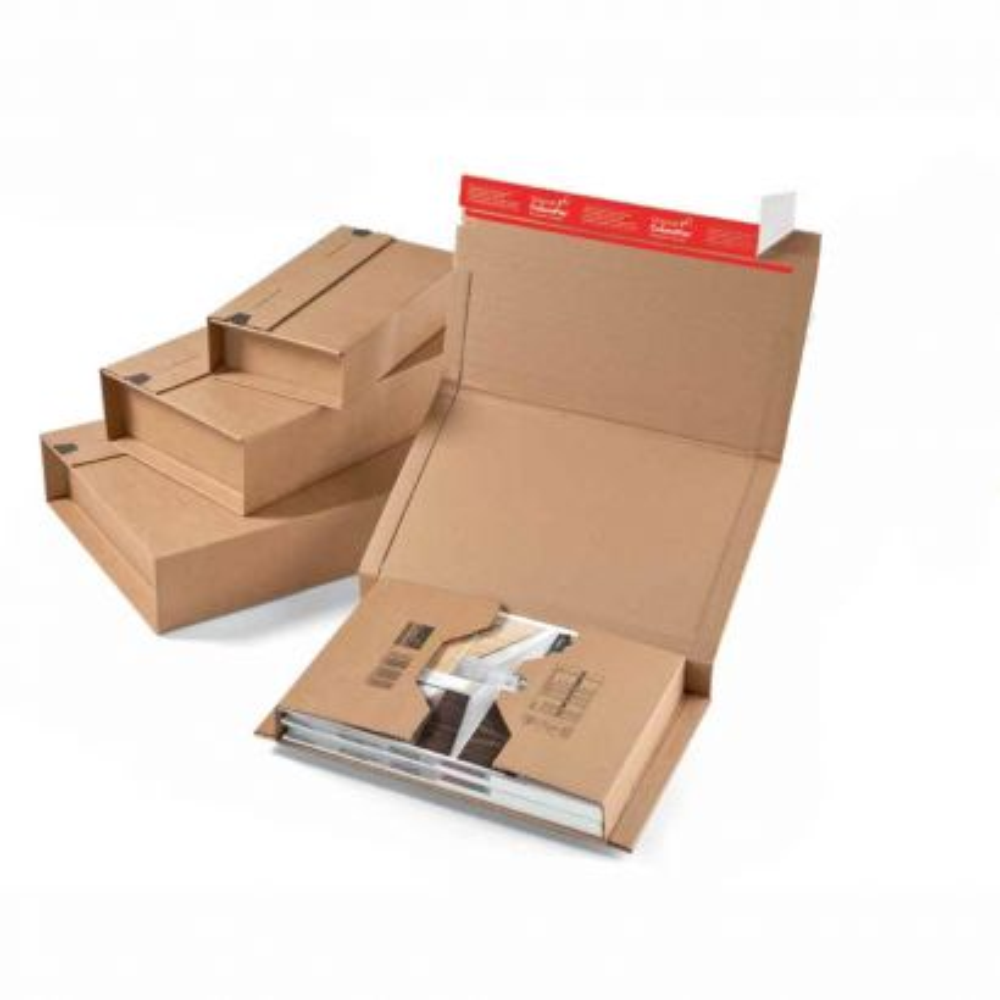 Caja Carton Embalaje Envolvente 353x225x-100mm.