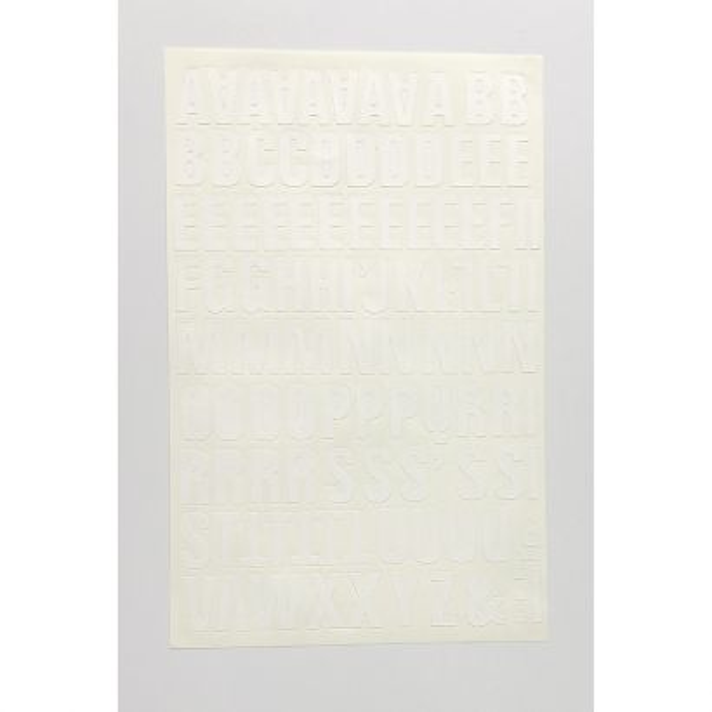 Letra Folio 30mm Blanco