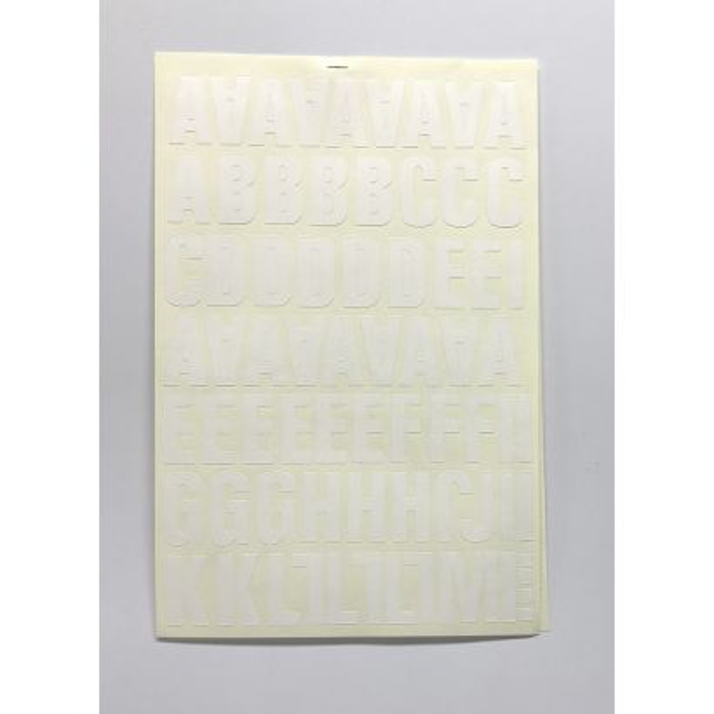 Letra Folio 40mm Blanco