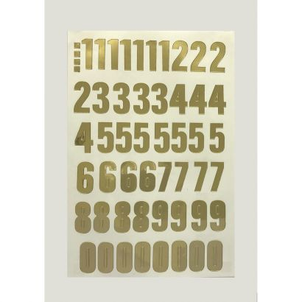 Numero Folio 40mm Oro