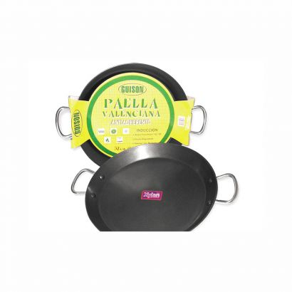 Paella Inox para Vitroceramica de 36 Cm  5-6