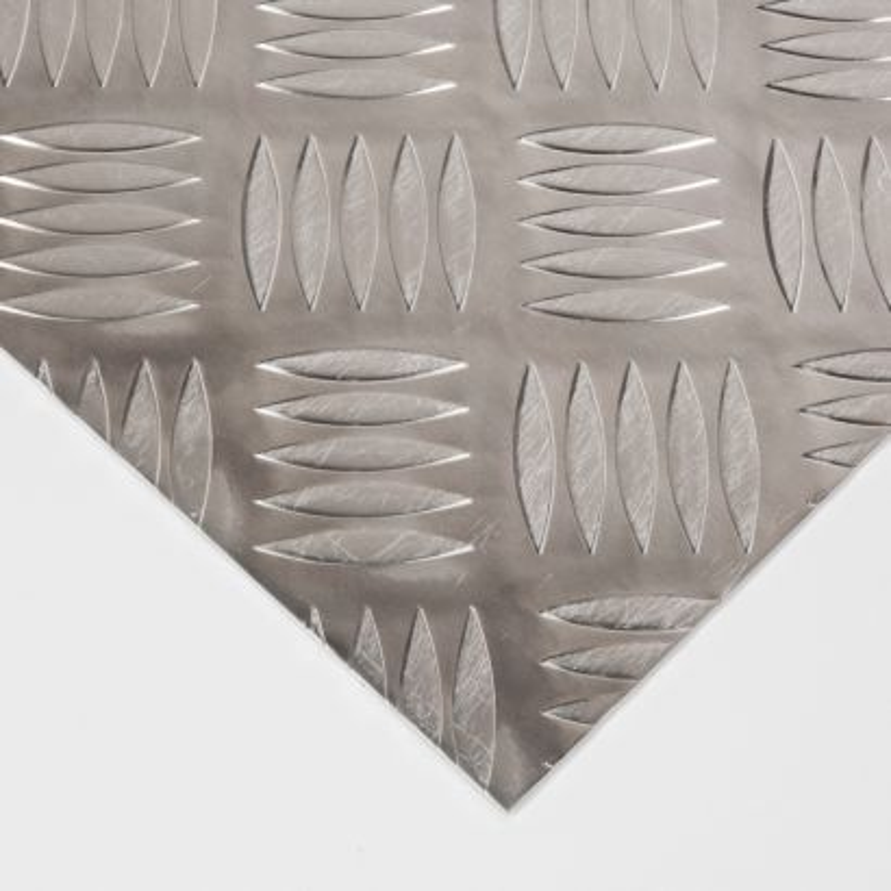 Plancha de Aluminio damero