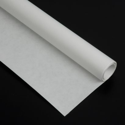 Rollo de papel Kraft blanco