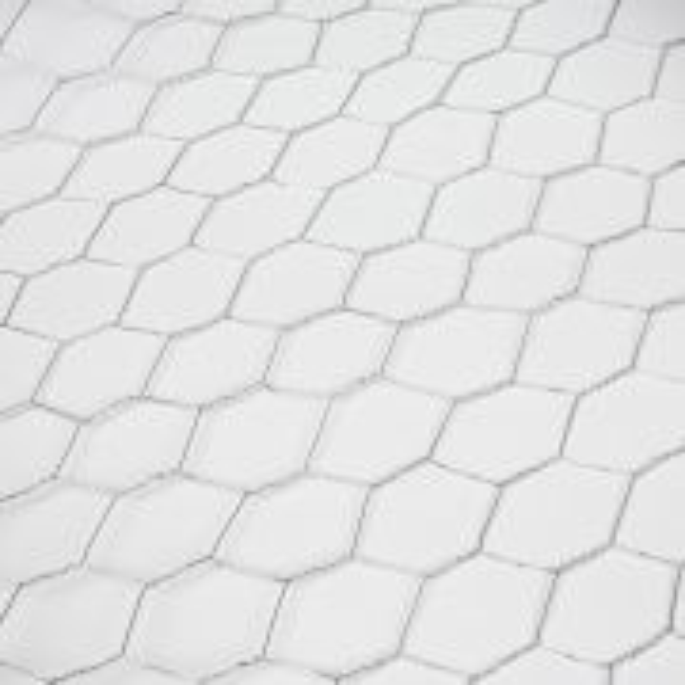 Reja de Acero galvanizado hexagonal