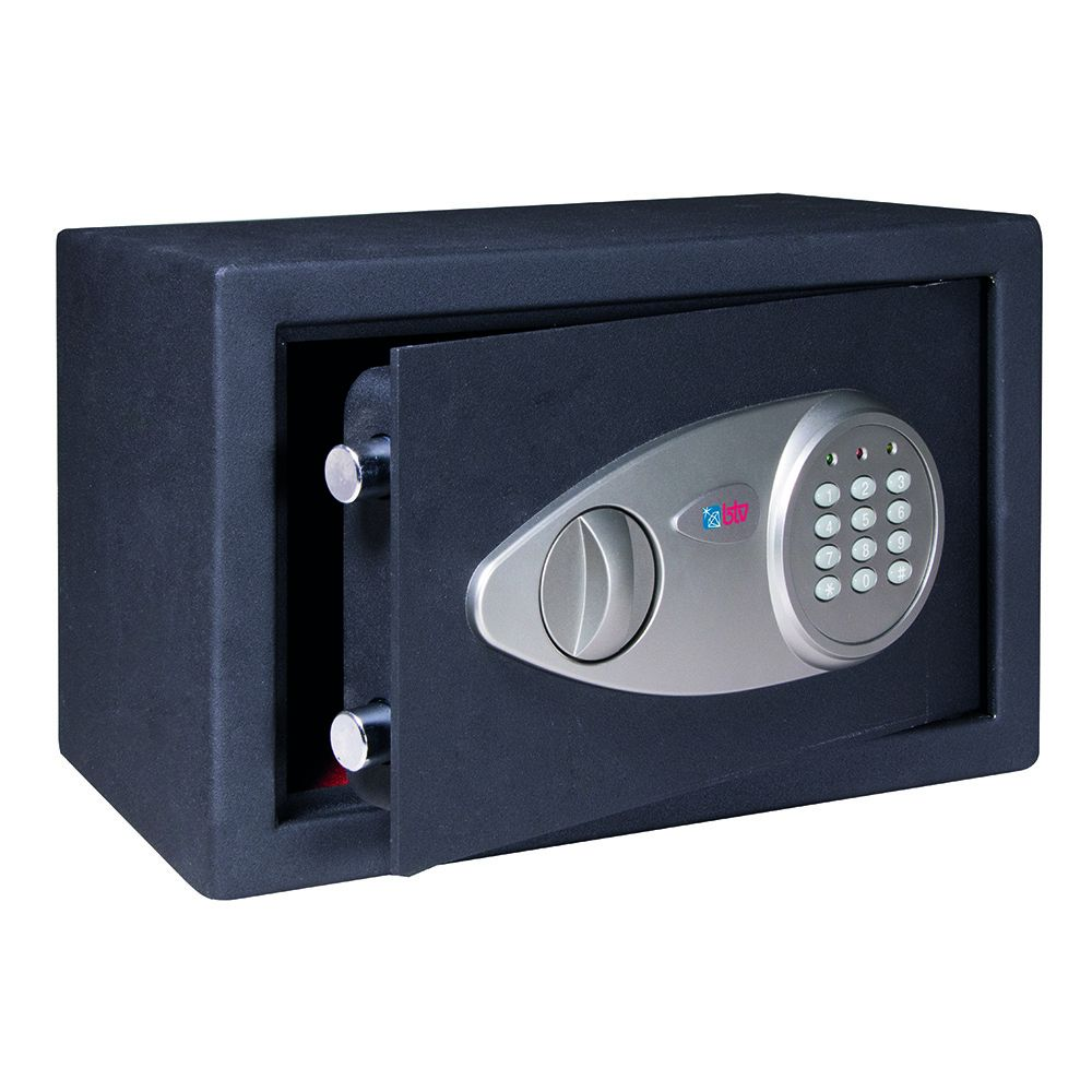 Caja Fuerte Pomo+Teclado Serie Alpha-20 200x310x200mm
