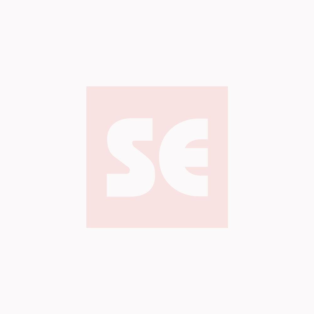 Burlete bajo puerta. 100 cm. Pelo 13 mm Adhesivo / Gris. Blister 1 tira