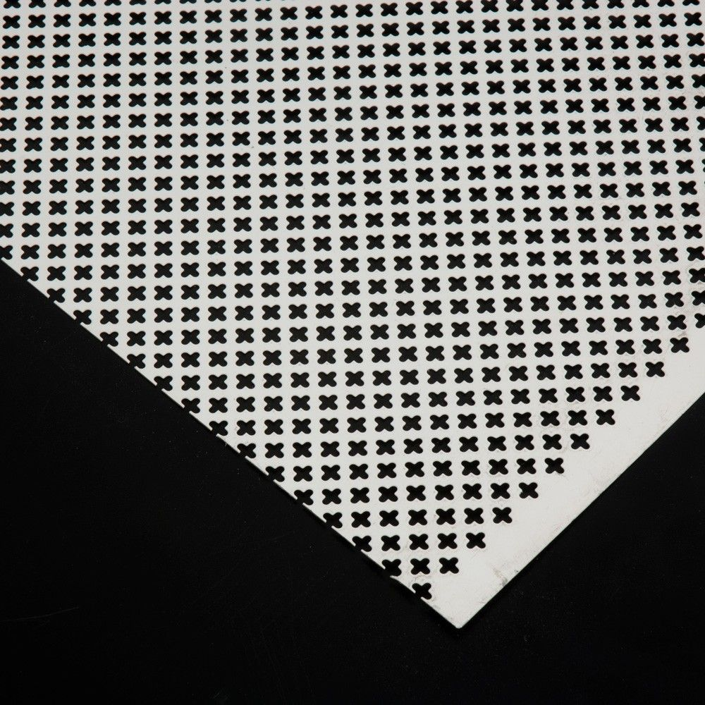 Plancha de Aluminio trébol cubreradiador