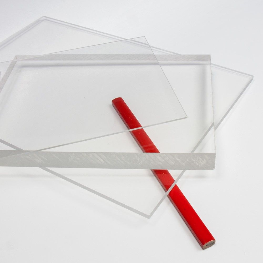 Plancha de Metacrilato transparente cristal